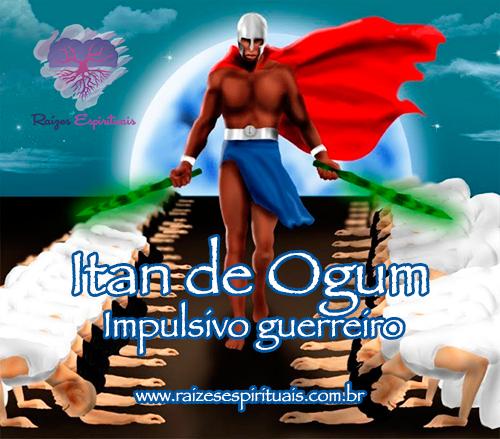 Lenda sobre a impulsividade característica de Ogum