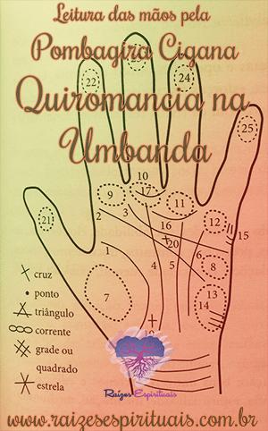 Quiromancia na Umbanda