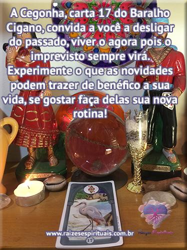 Baralho Cigano - Carta 17