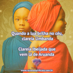Clareia Ibejada, Clareia Umbanda!