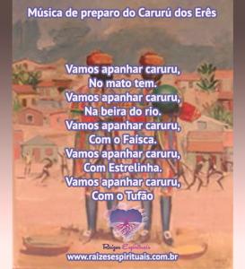 Música de preparo do Caruru do Erê
