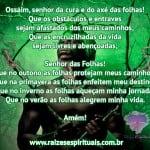 Oração para Ossaim
