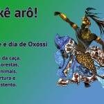 Okê arô – Hoje é dia de Oxóssi