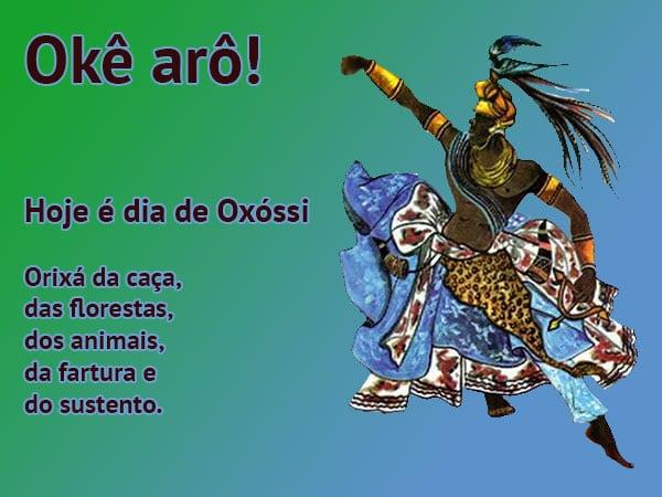 Okê arô! Hoje é dia de Oxóssi - Orixá da caça, das florestas, dos animais, da fartura e do sustento.
