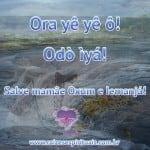 Sábado é de Oxum e Iemanjá
