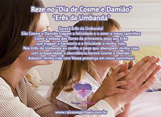 27 de setembro, Dia de Cosme e Damião