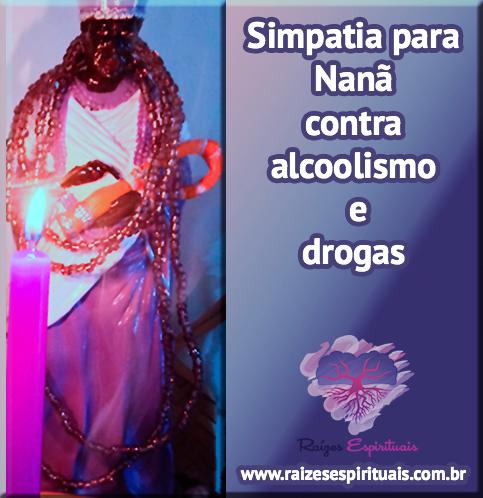 Simpatia contra alcoolismo e drogas
