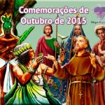 Comemorações de Outubro de 2015