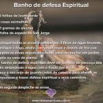 Banho de defesa espiritual no domingo