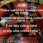 Caboclo Cobra Coral