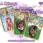 Criança – Raposa – Urso e o Baralho Cigano