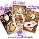 Anel – Livro – Carta e o Baralho Cigano