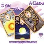 Sol – Lua – Chave e o Baralho Cigano