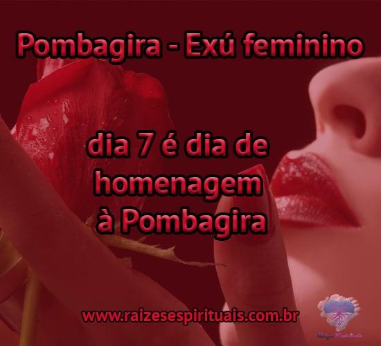 Pombagira é o Exú feminino, entidade mensageira que intercede pelos homens junto ao divino.