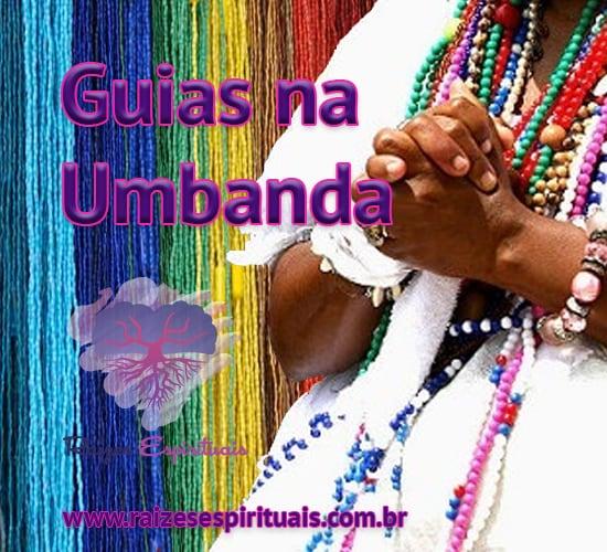 """Guias na umbanda são também conhecidas como """"fios de contas"""" ou """"cordão de santo"""""""