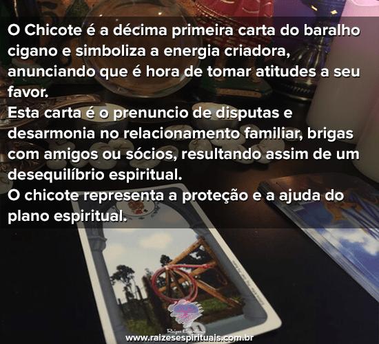 Baralho Cigano - O Chicote