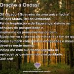 Oração a Oxóssi na quinta-feira
