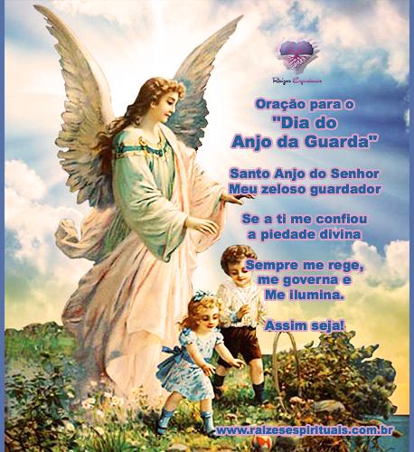 Dia 2 de outubro é Dia do Anjo da Guarda