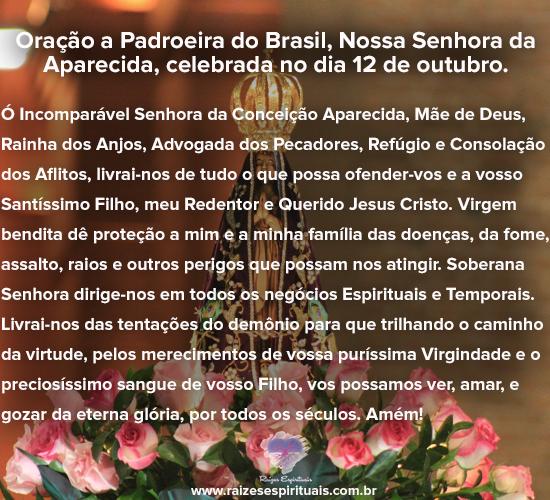 Oração à Padroeira do Brasil