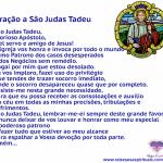 Oração para São Judas Tadeu
