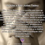 Prece a São Judas Tadeu