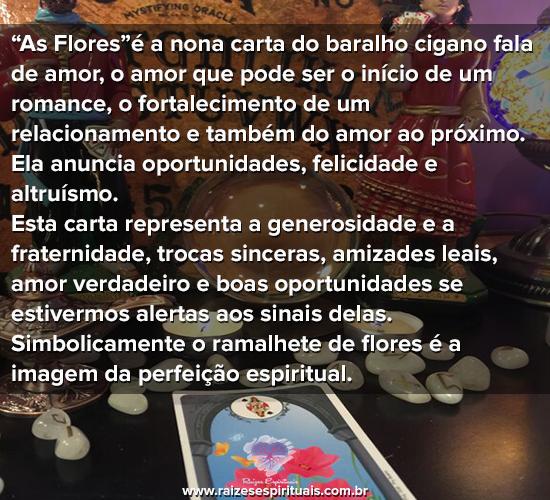 Baralho Cigano - As Flores