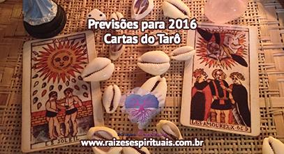 Previsões para 2016 nas Cartas do Tarô