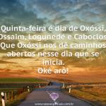 Caminhos abertos – Oxóssi