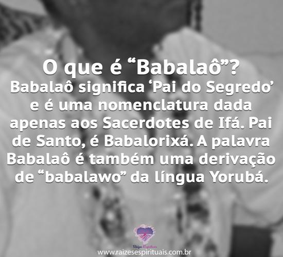 Babalaô