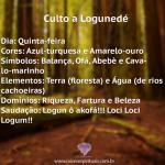 Culto a Logunedé na quinta