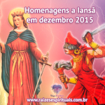 Homenagens a Iansã em dezembro 2015