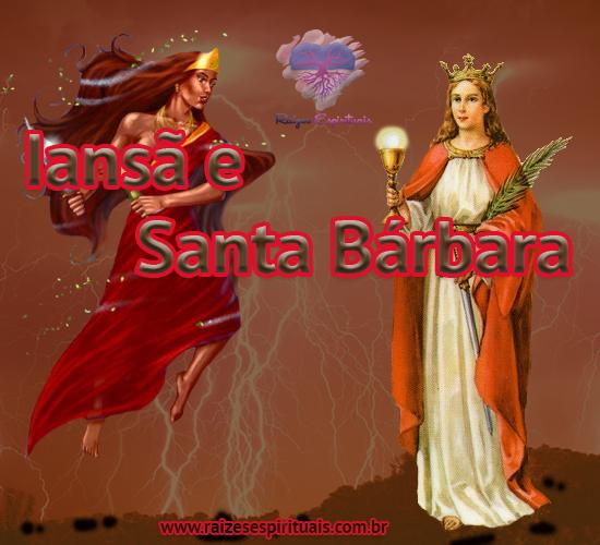 Iansã e Santa Bárbara