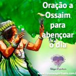 Oração a Ossaim para abençar o dia