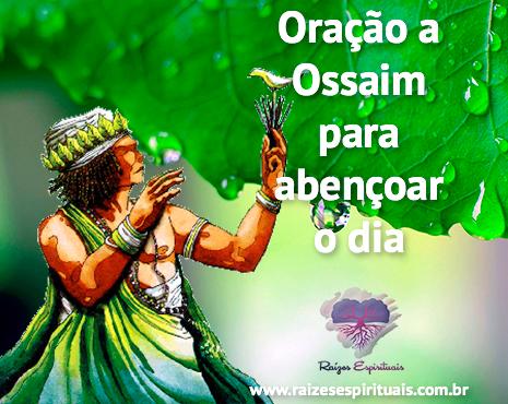 Faça sua oração a Ossaim para abençoar o dia