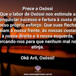 Prece a Oxóssi