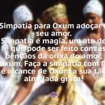 Simpatia para Oxum