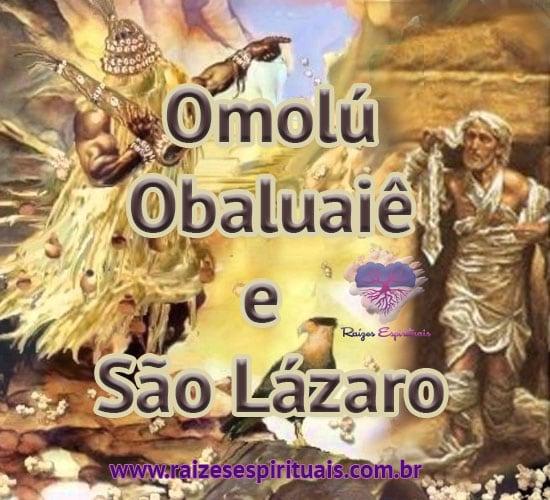 Omolú, Obauaiê e São Lázaro