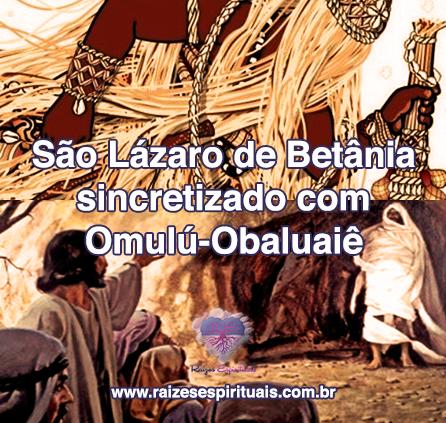 São Lázaro de Betânia homenageado em 17 de dezembro