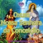 Oxum e Nossa Senhora da Conceição