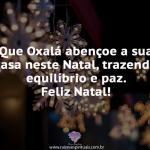 Natal com Oxalá