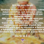 Dia da Mamãe das Águas Oxum