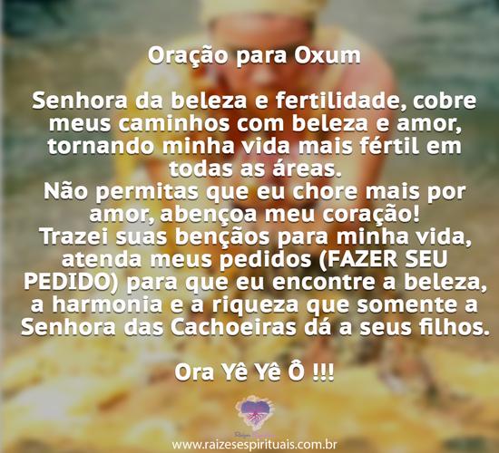 Oração para Oxum