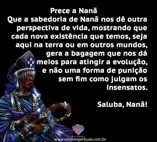 Prece a Nanã