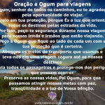 Oração a Ogum para Viagem