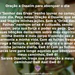Oração a Ossaim