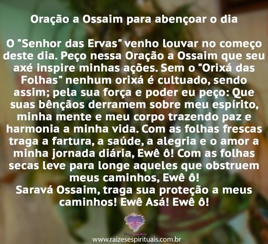 Oração Ossaim