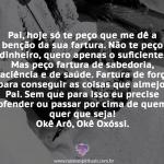 Prece Oxóssi