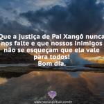 Justiça de Pai Xangô