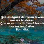 As águas de Oxum