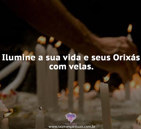 Ilumine sua vida e Orixás com velas